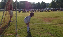 Lily's First Soccer Team Experience