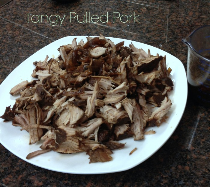 Tangy Slow Cooker Pulled Port