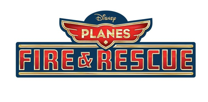Planes Fire and Rescue Title Art Resized