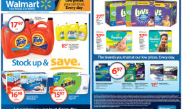 Stock Up and Save With P&G at Walmart Giveaway