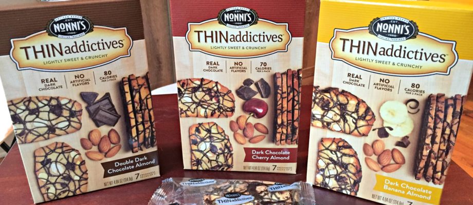 Nonni's Dark Chocolate Almond THINaddictives Giveaway