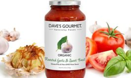 Dave's Gourmet Roasted Garlic and Sweet Basil Pasta Sauce Giveaway